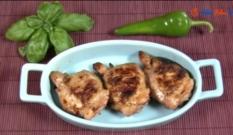 Kurczak w zalewie grejpfrutowej - grill