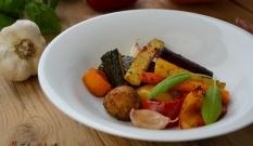 Warzywa pieczone w piekarniku